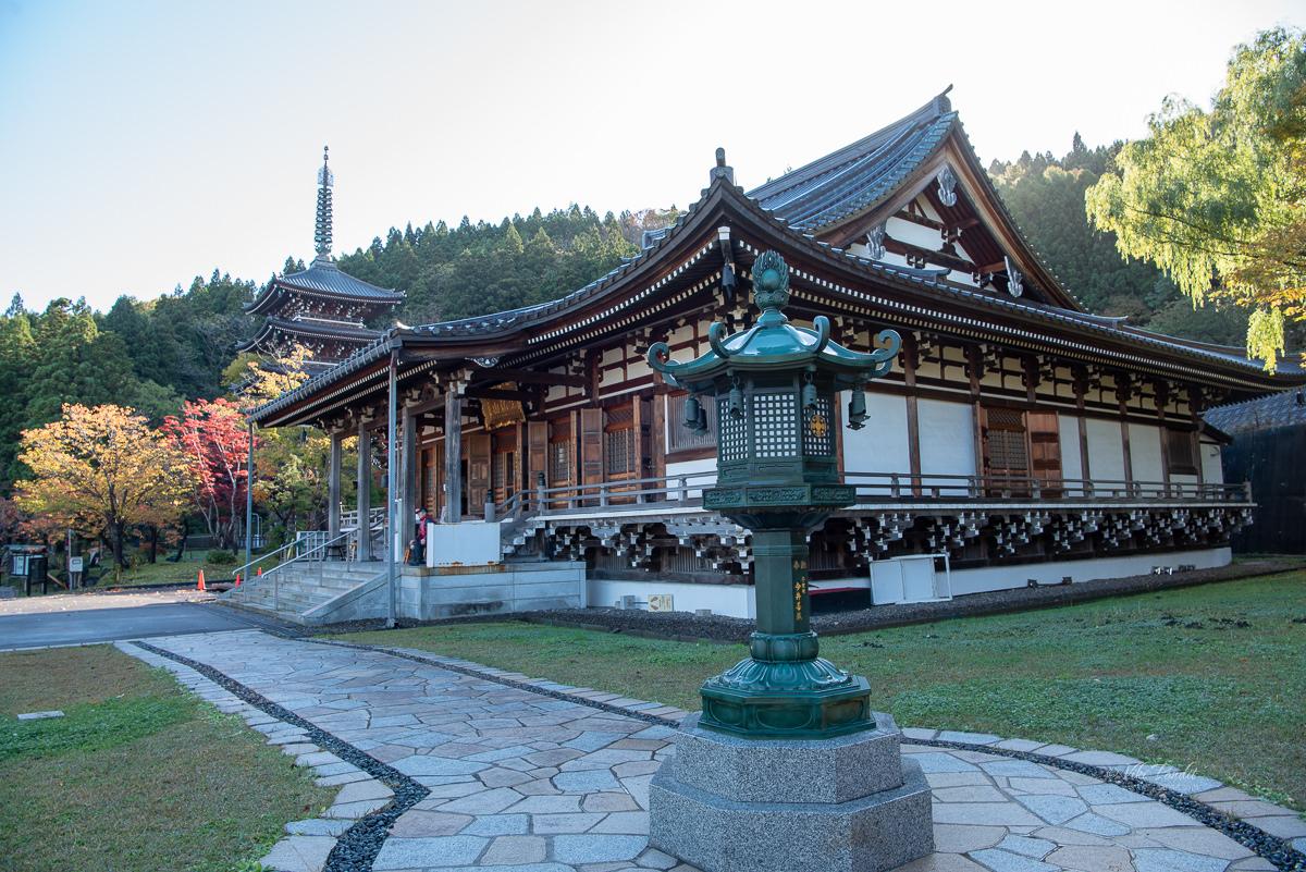 Seiryu-ji Temple Kondo Hall