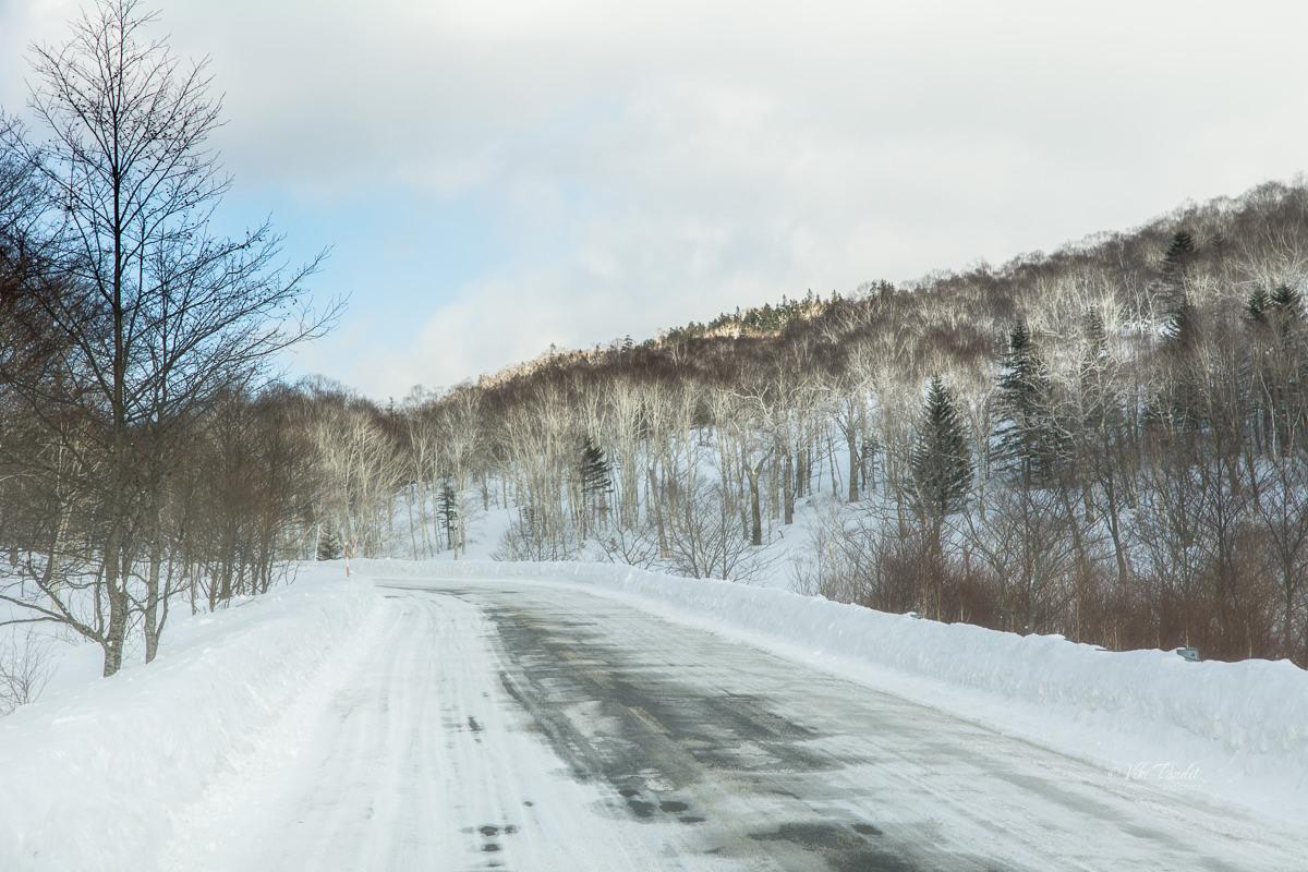 Drive to Lake Shikaribetsu