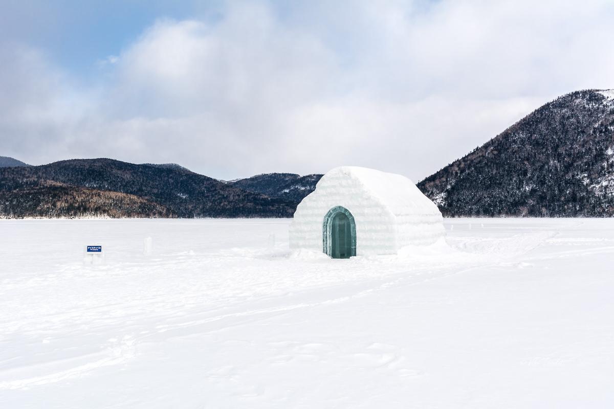 Ice Chapel at Lake Shikaribetsu