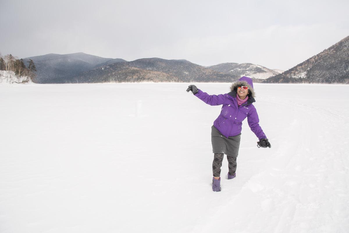 Mani at Lake Shikaribetsu