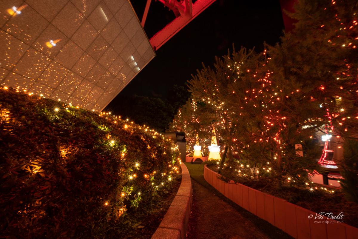 Illuminations at Tokyo Tower