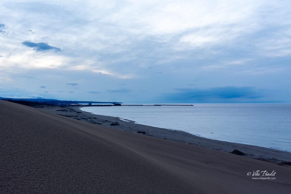 Twilight at Tottori Sand Dunes