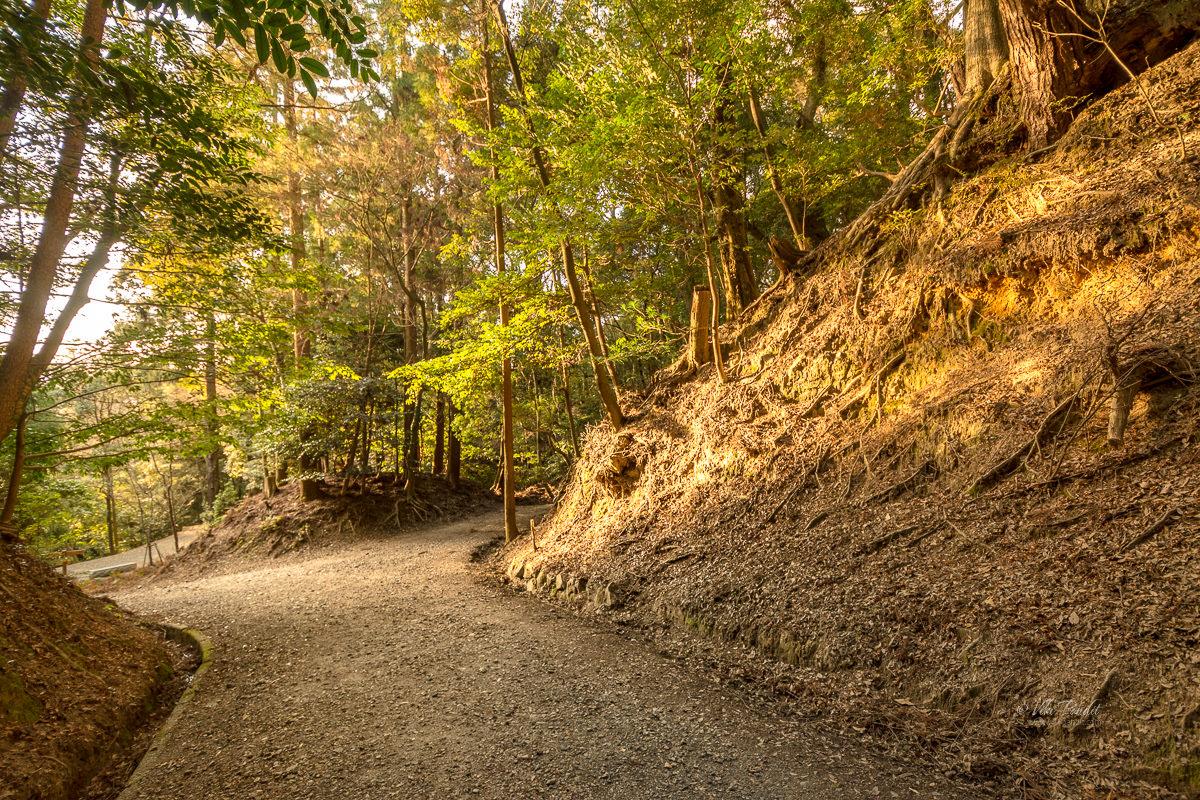 Path to Uguisunotaki Waterfalls
