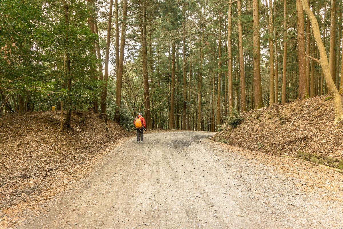 Hike to Uguisunotaki Falls