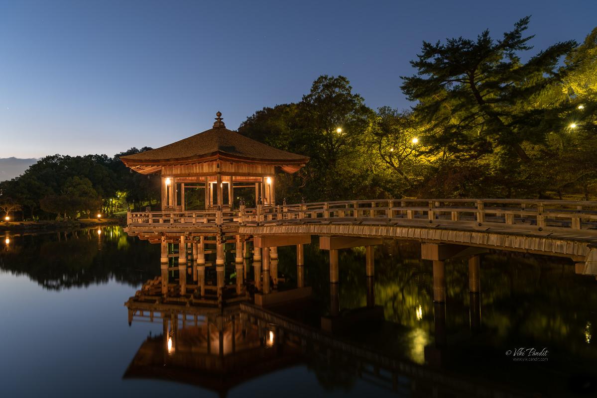 Ukimido Pavilion in Nara