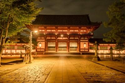 Todaiji Gate at Night