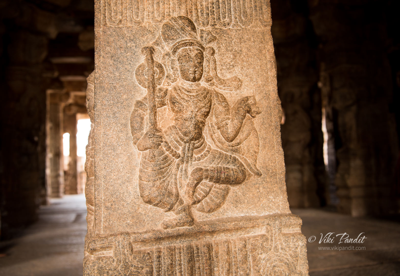 Dancer, Veerabhadra Temple