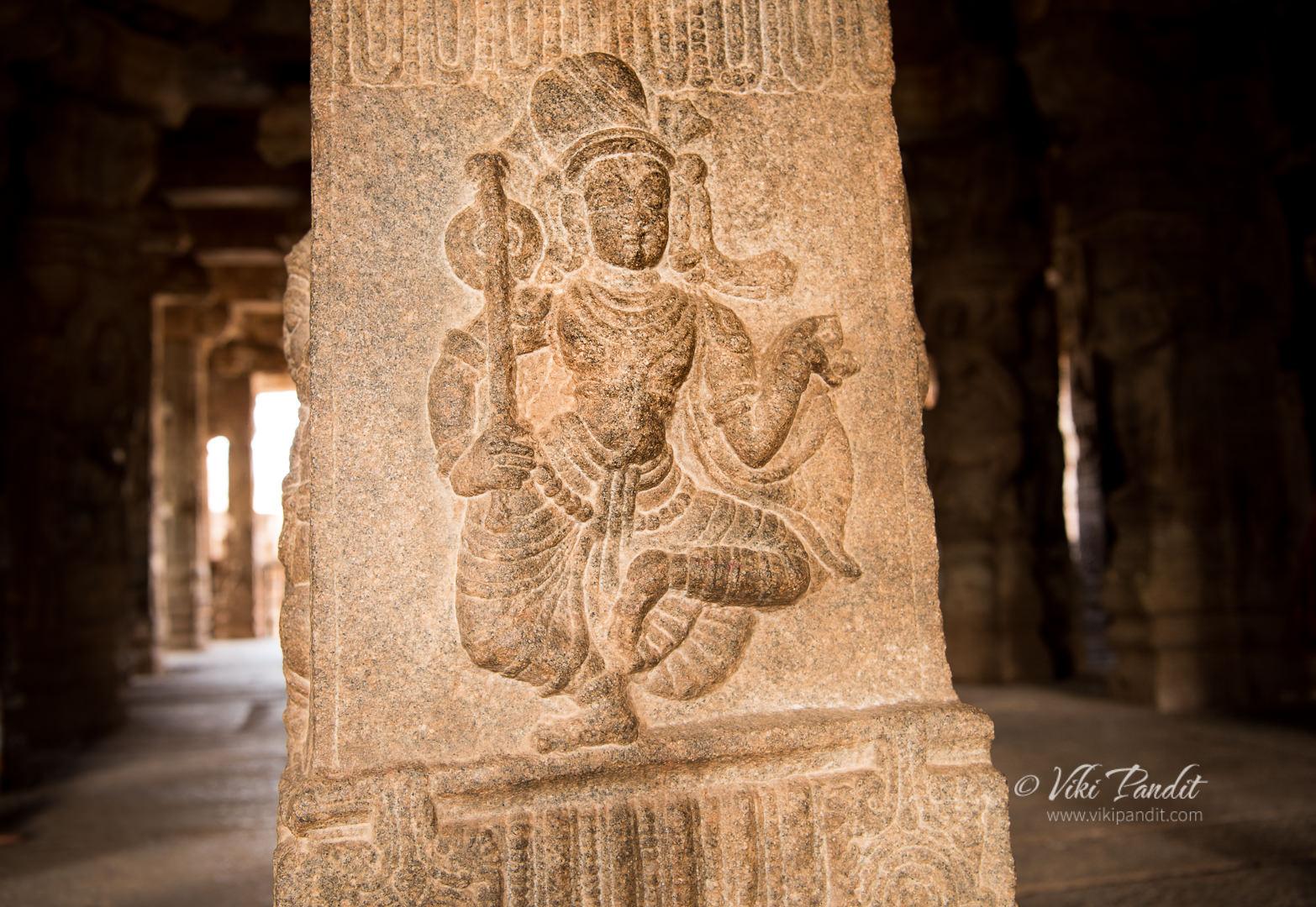 Dancer, Veerabhadra Temple