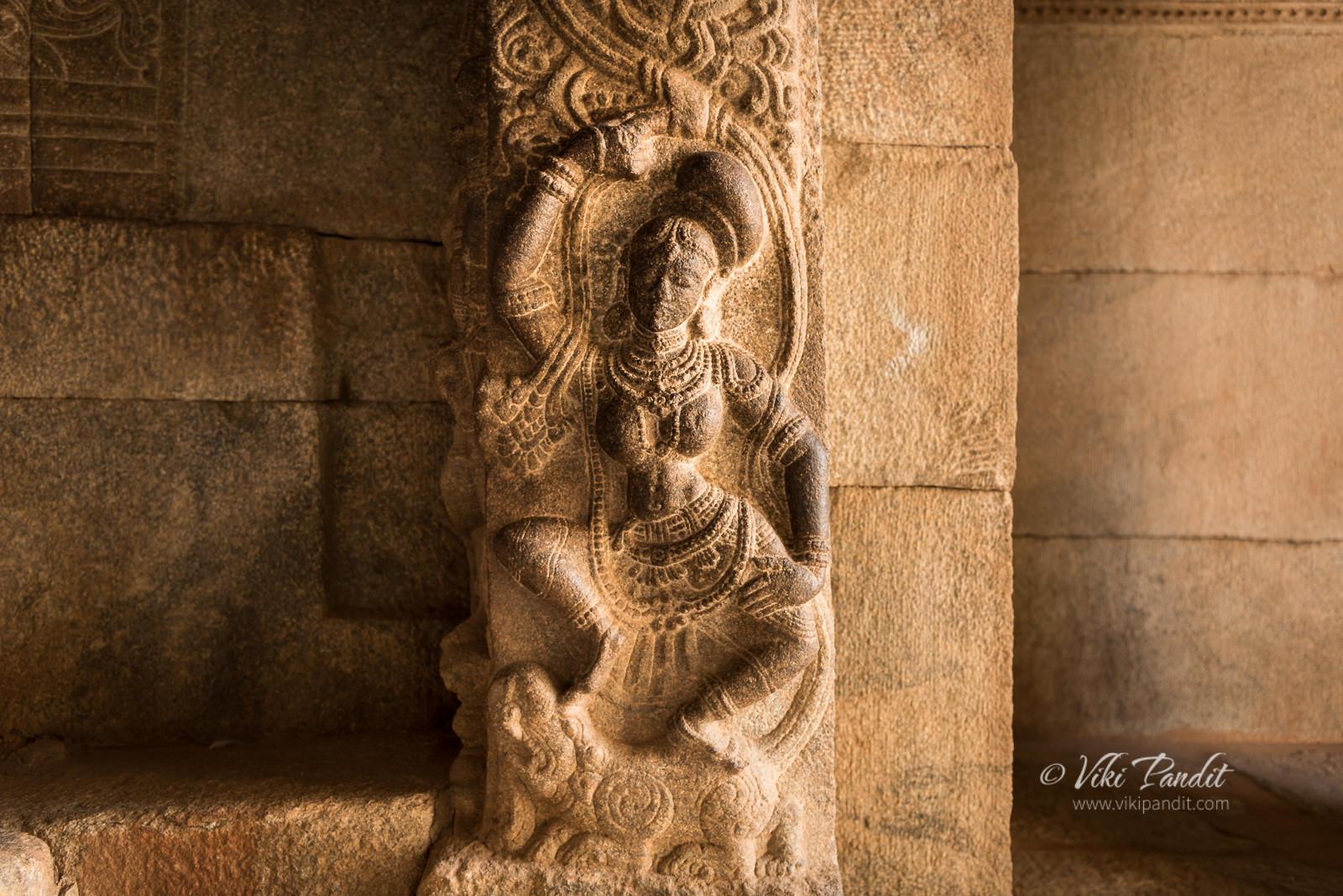 Yamuna, Veerabhadra Temple