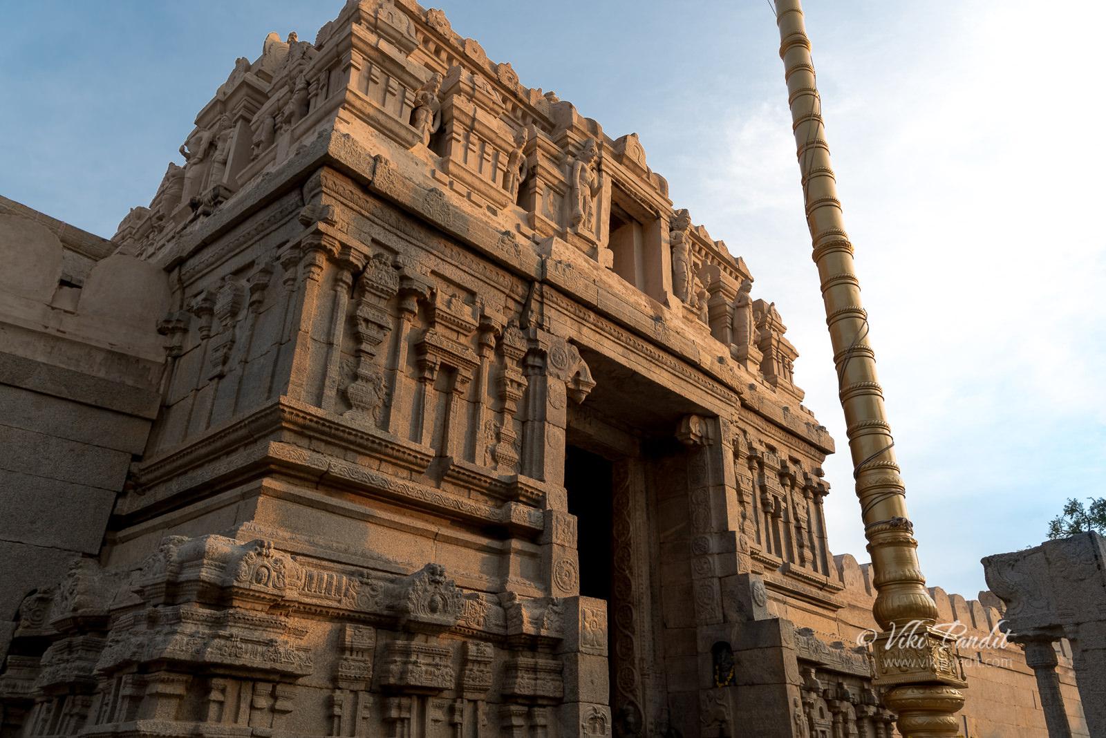 Entrance, Veerabhadra Temple