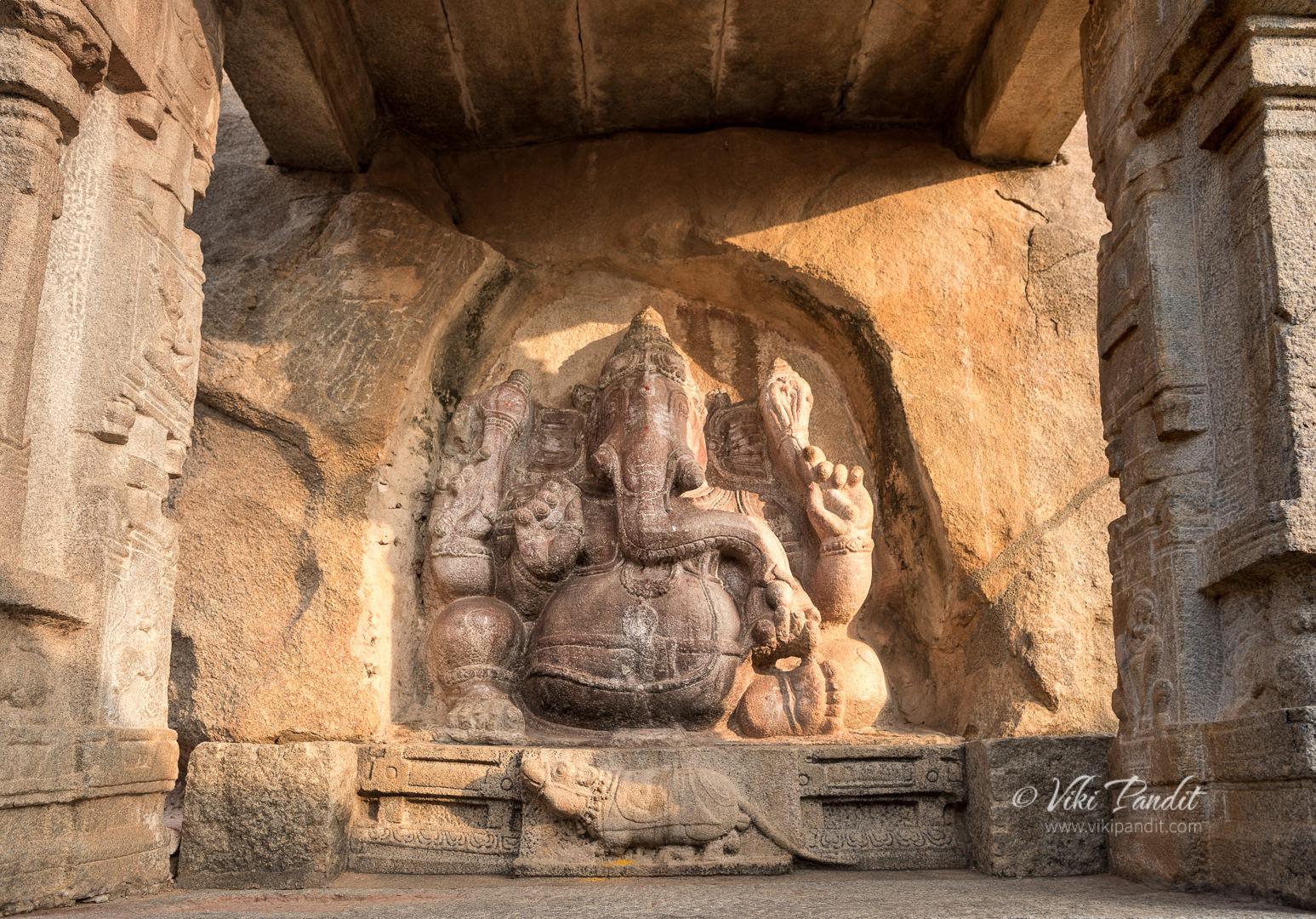 Ganesha, Veerabhadra Temple