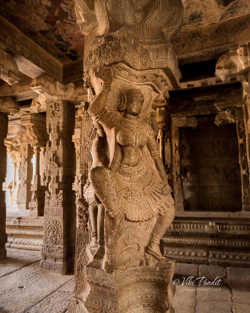 Rambha Statue, Veerabhadra Temple