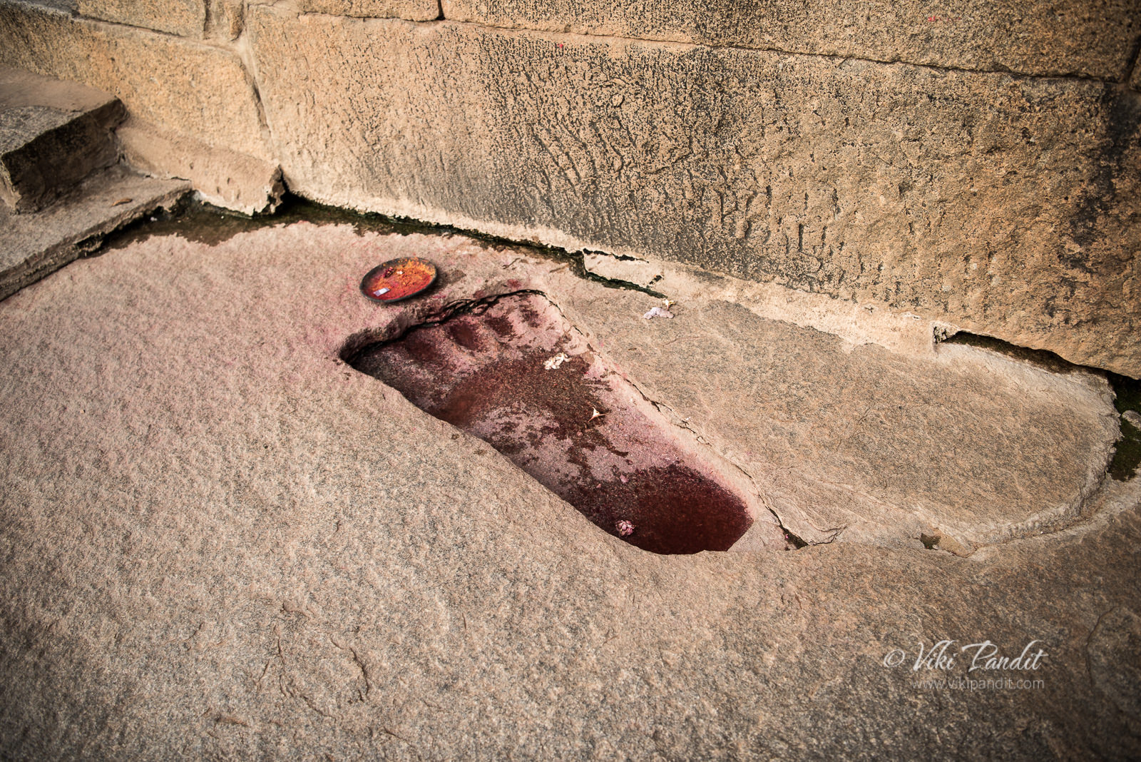 Sita Footprint, Veerabhadra Temple