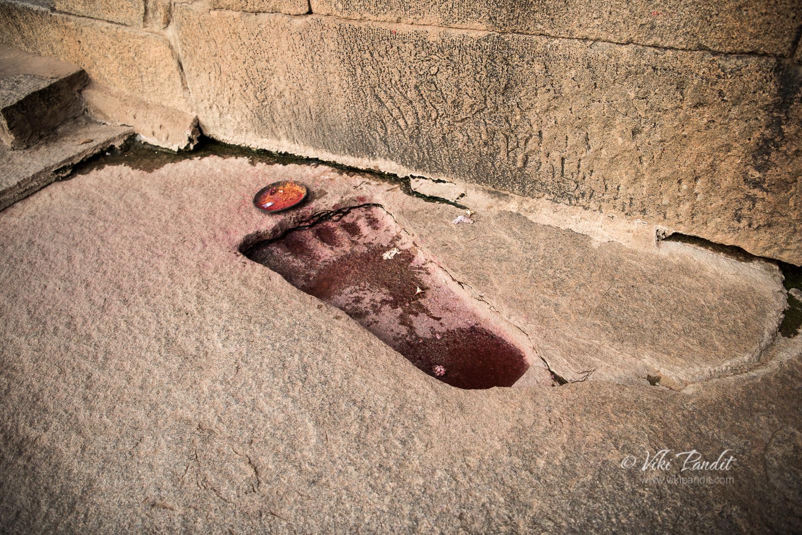 Sita Footprint, Veerabhadra Temple