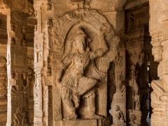 Dancing Guru Brungeshwara, Veerabhadra Temple