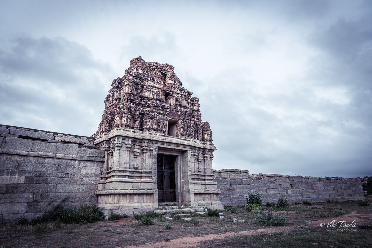 North Gate of Vittala Temple in Hampi