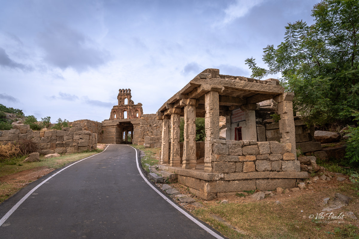 Talarigatta Gate was one of the main entrance points into the urban centre of the Hampi