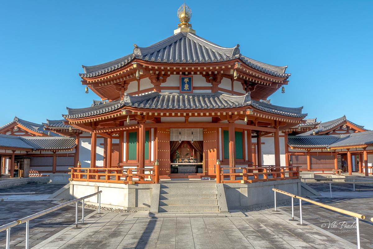 Hieun Tsang idol at Genjo-Sanzoin, Yakushi-ji