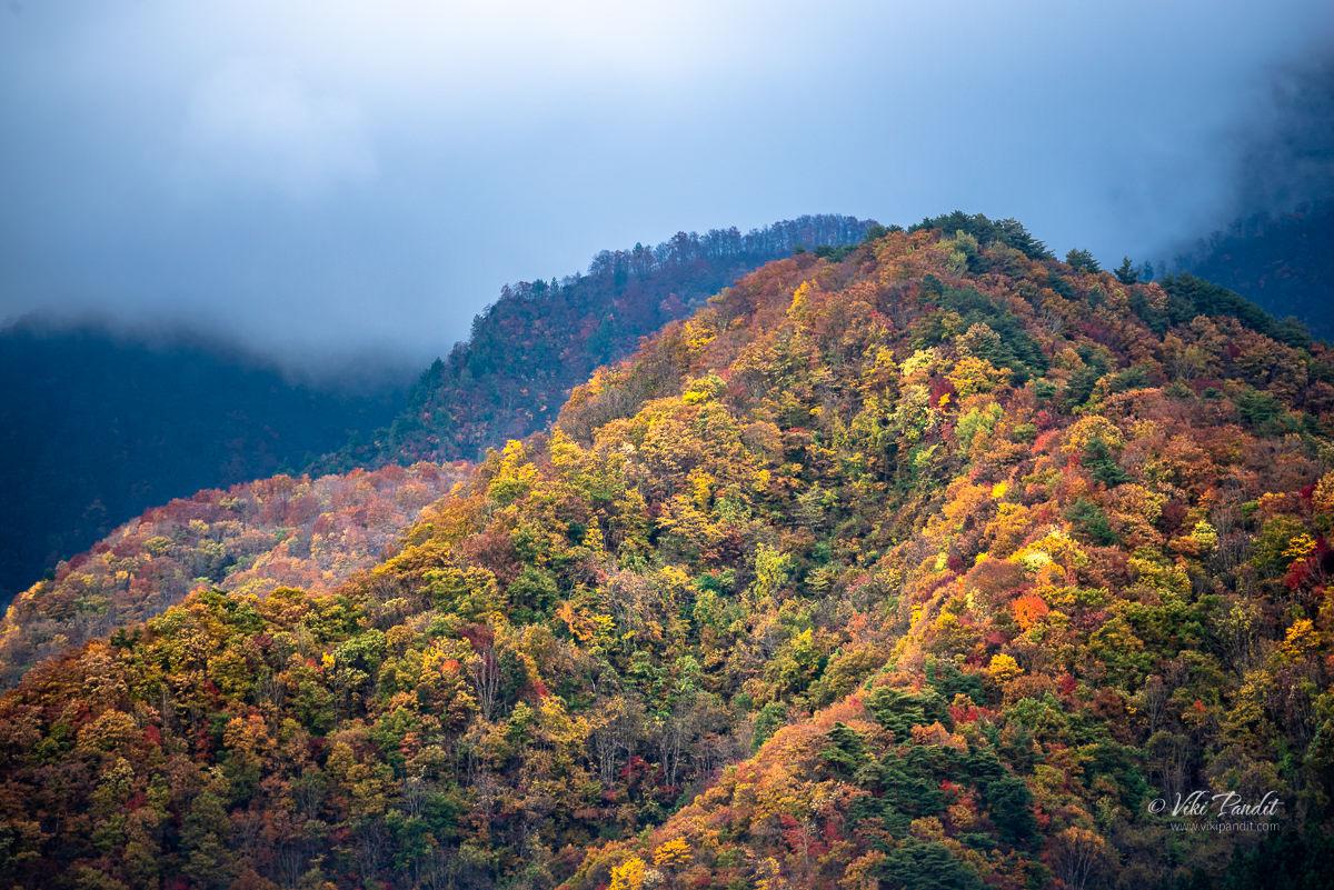 Hills surrounding Yamadera
