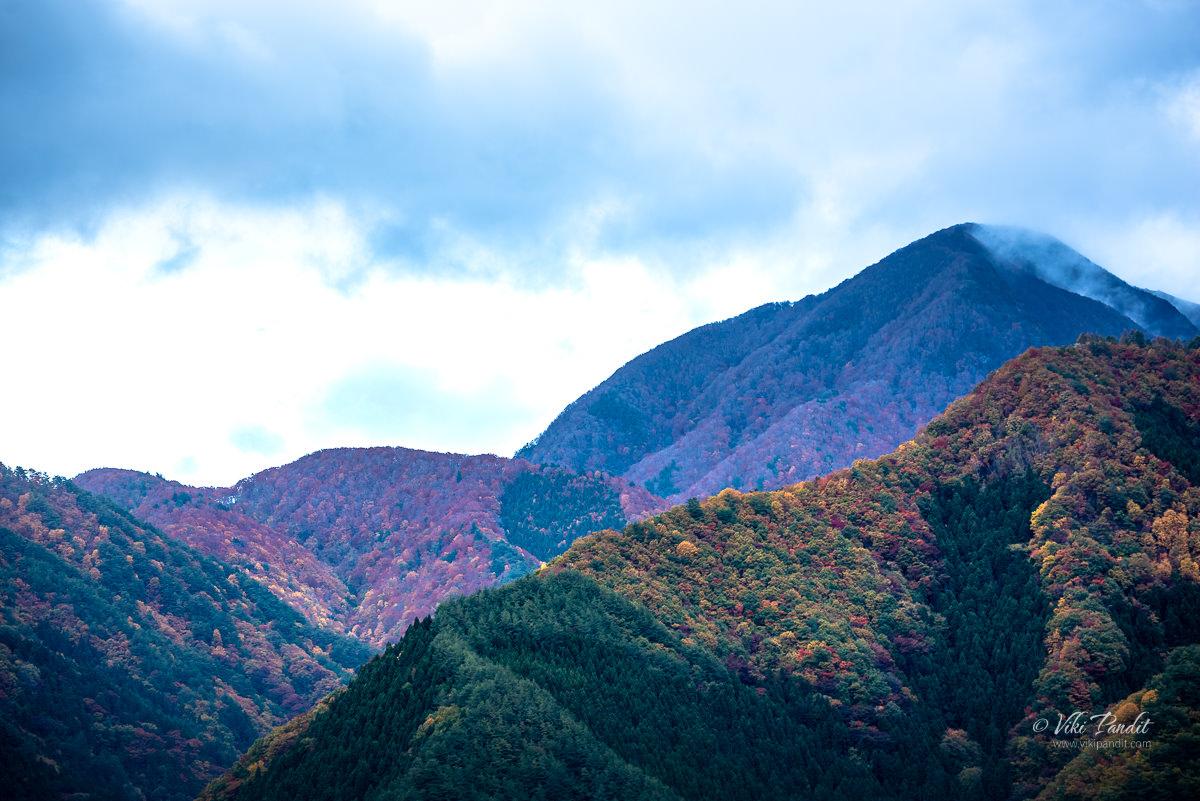 Mountains surrounding Yamadera