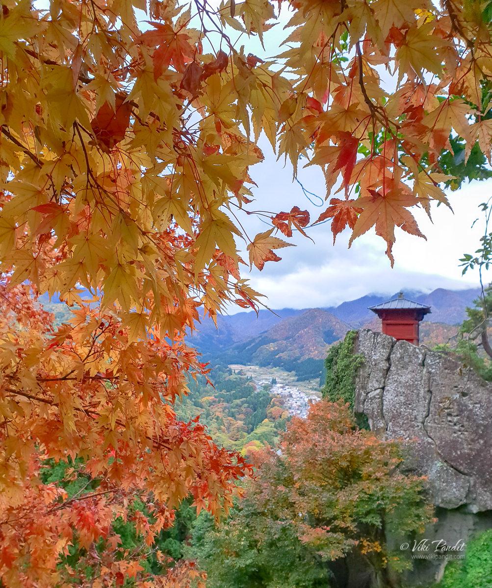 The most beautiful shot of Nokyodo at Tamadera during Fall