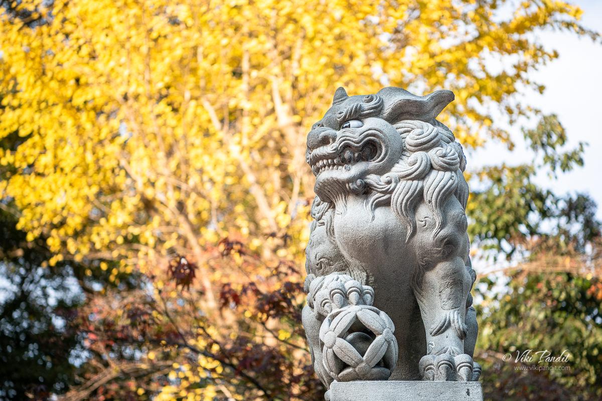 Shishi Lion at Yasaka Shrine