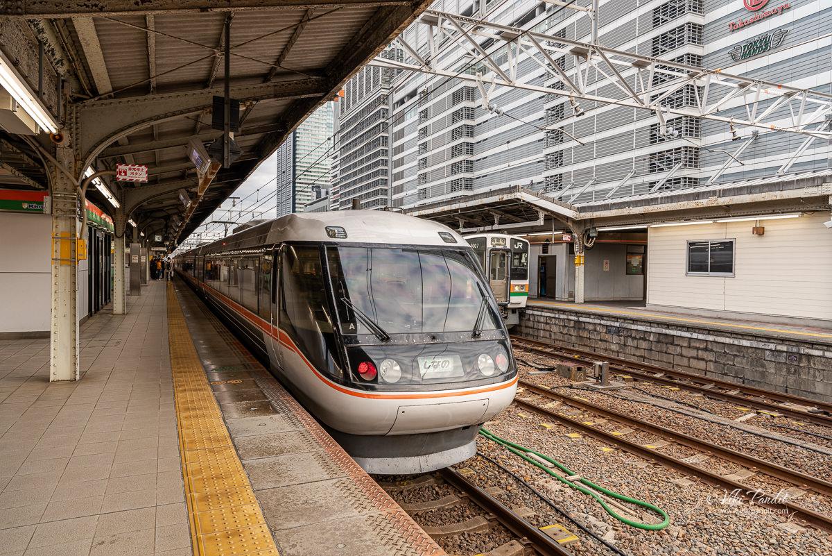 Catching the Shinano 5 Limited Express to Nagano