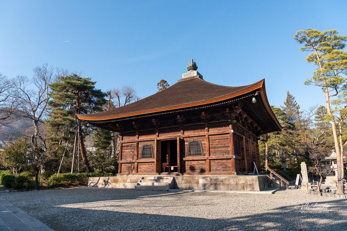 Sutra Depository at Zenko-ji Temple