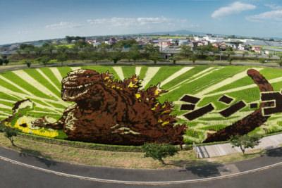 Godzilla Tambo Art
