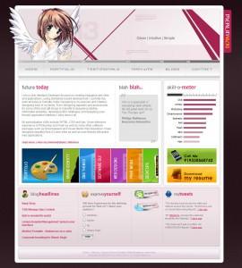 Merlinvicki Blog Design v2.0