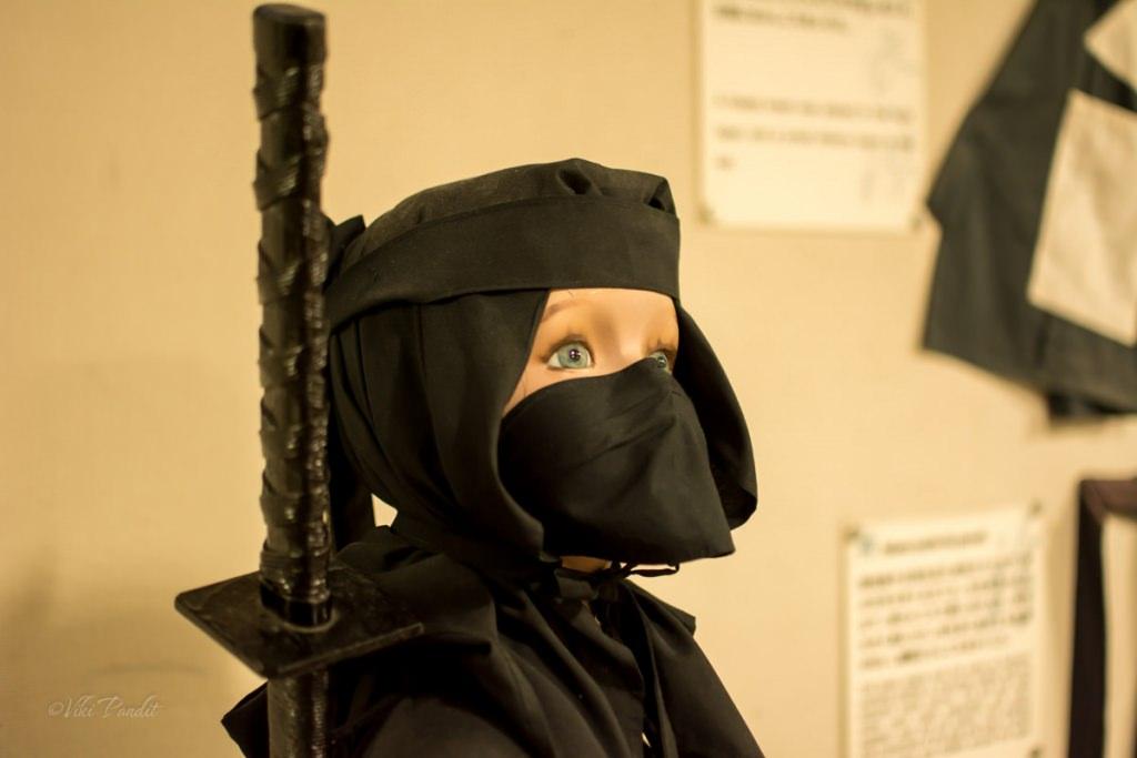 On the trail of the Ninjas of Iga Ueno