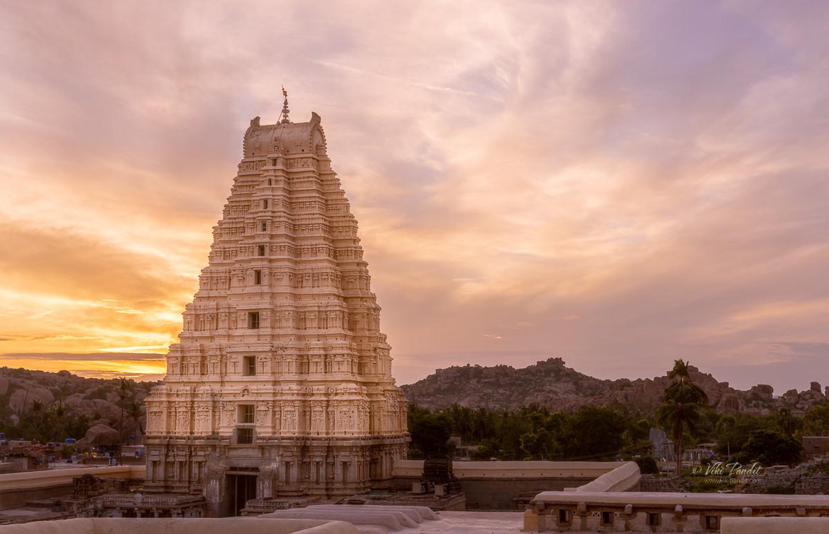 Shades of Virupaksha Temple - Viki Pandit