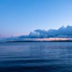 Aomori Bay at dawn