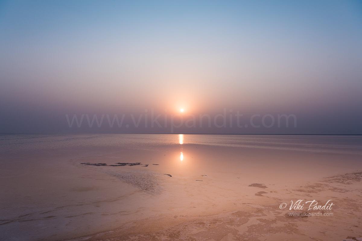 Sunrise at White Rann