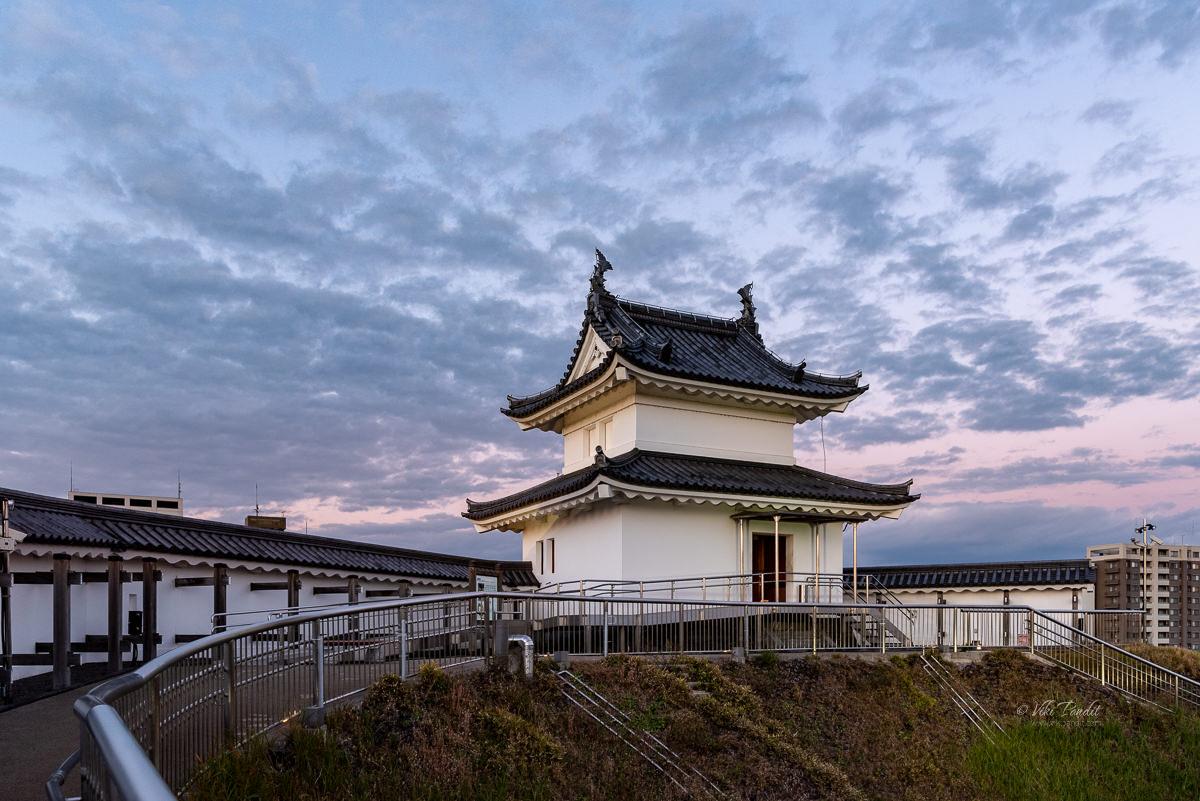 Tower of Utsunomiya Castle Ruins