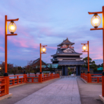 Evening at Kiyosu Castle